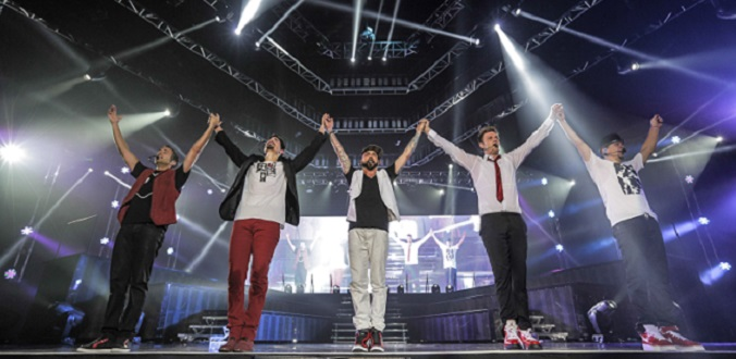 The Backstreet Boys at Ra'anana Amphitheater