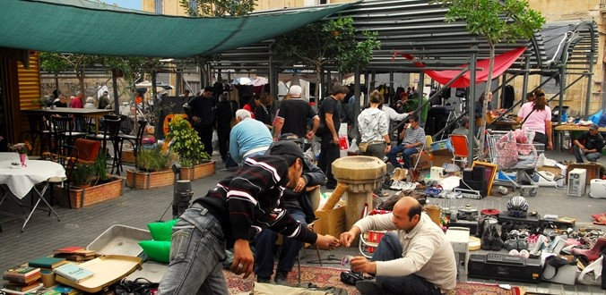 Jaffa's Flee Market – 'Shuk HaPishpeshim'