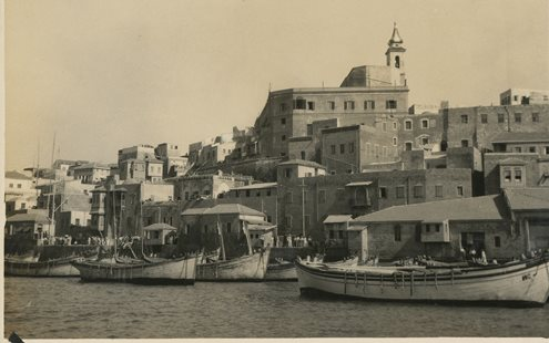 Jaffa Port Historical