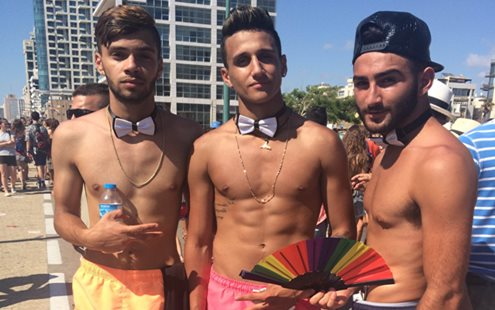 Don, guys Tel Aviv Pride