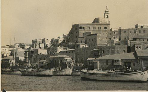 Jaffa Port Historical